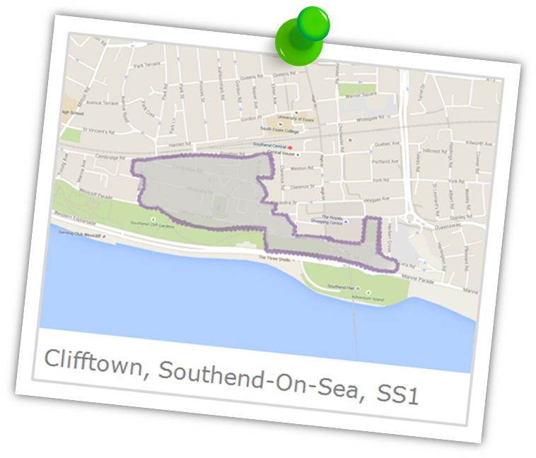 clifftown southend on sea area guide